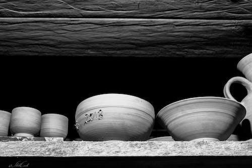 Immagine gratuita di argilla, arte, bianco e nero, ceramiche
