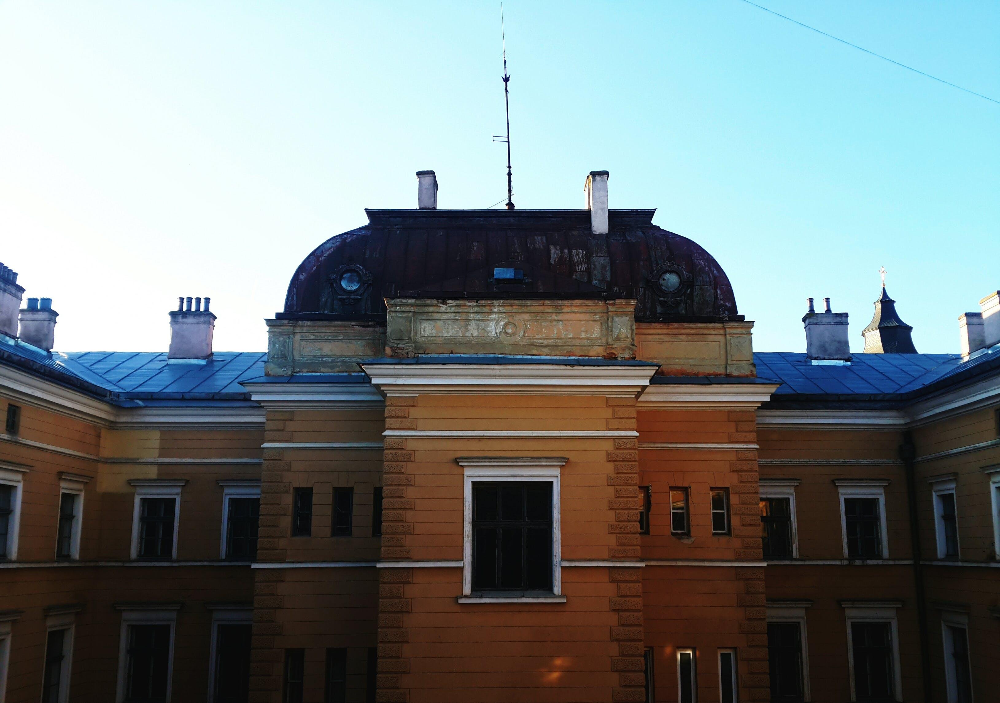 Free stock photo of building, university