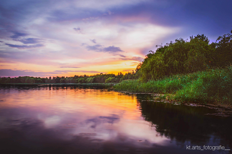 Free stock photo of Adobe Photoshop, golden sunset, abstract photo, 4k wallpaper