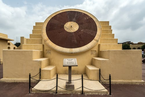Free stock photo of architecture, jantar mantar, sun dial