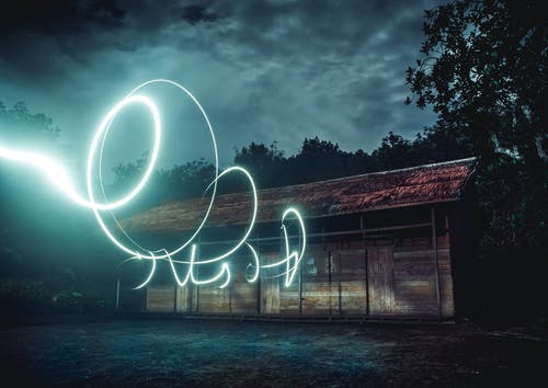 Long Exposure Photography of Light