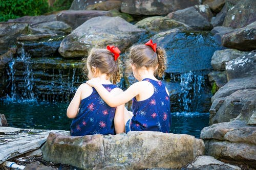 Free stock photo of bestfriends, girls, sisters, twins