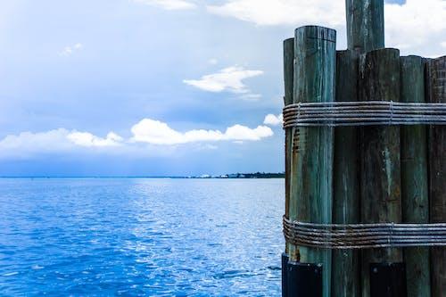 Free stock photo of ocean, post