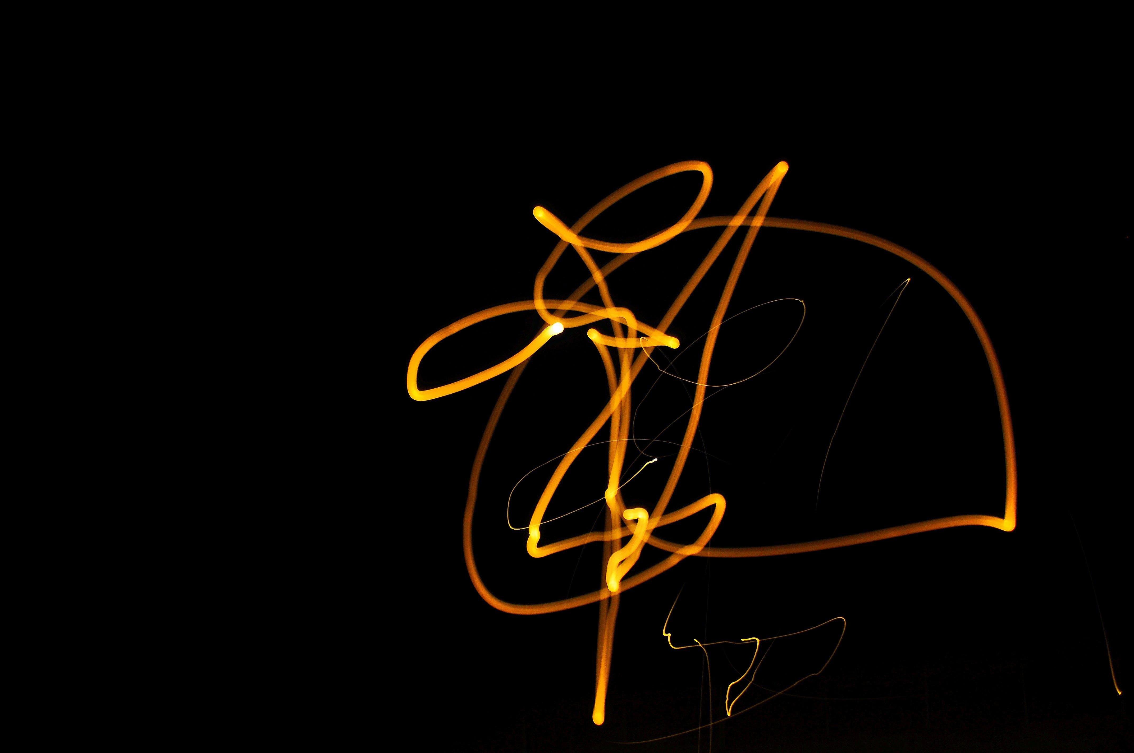 Kostnadsfri bild av abstrakt foto, ljus, ljus och skugga, svart