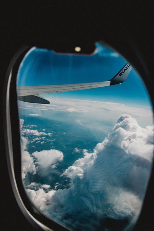 Fotografi Udara Sayap Kanan Pesawat