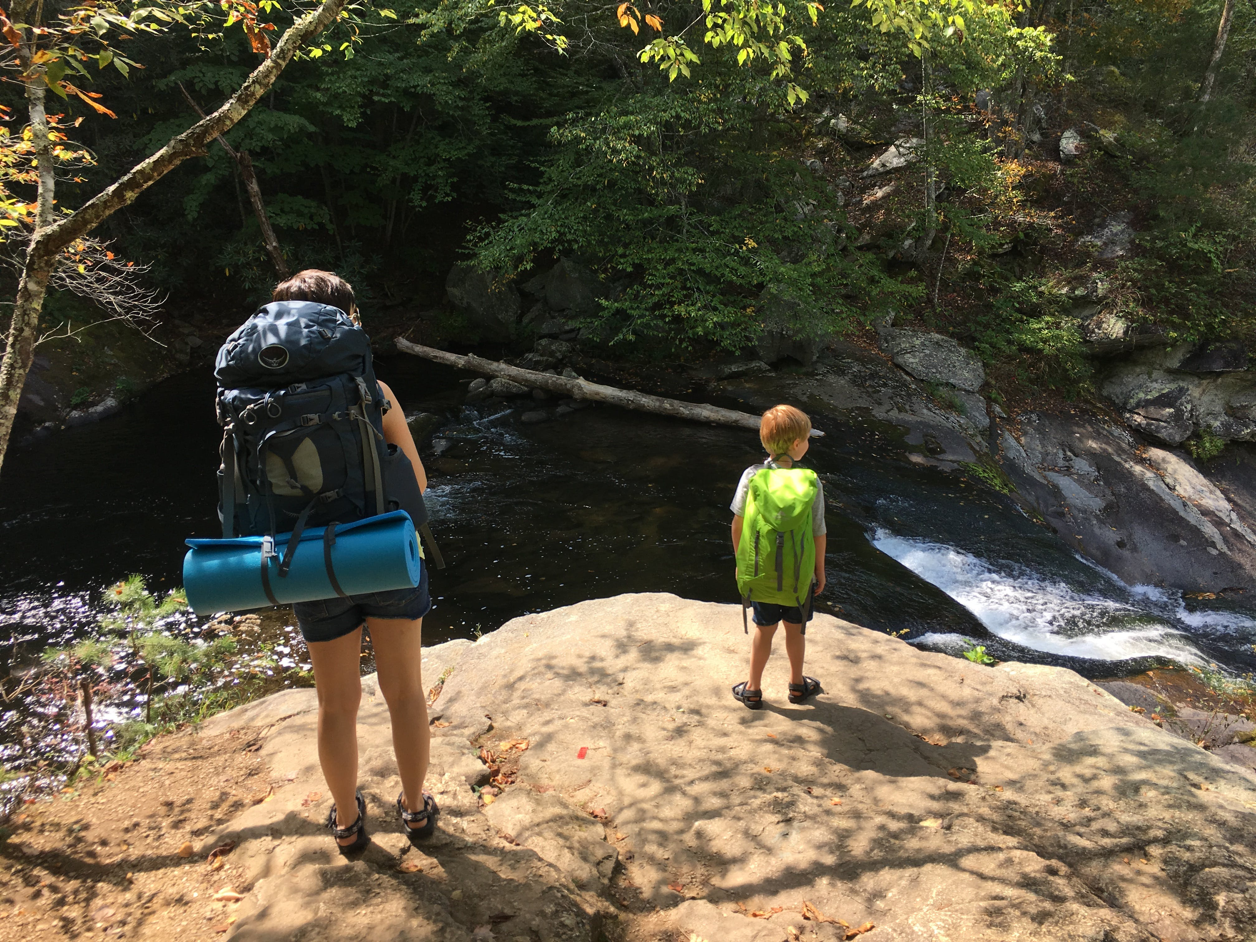 Free stock photo of backpacker, child