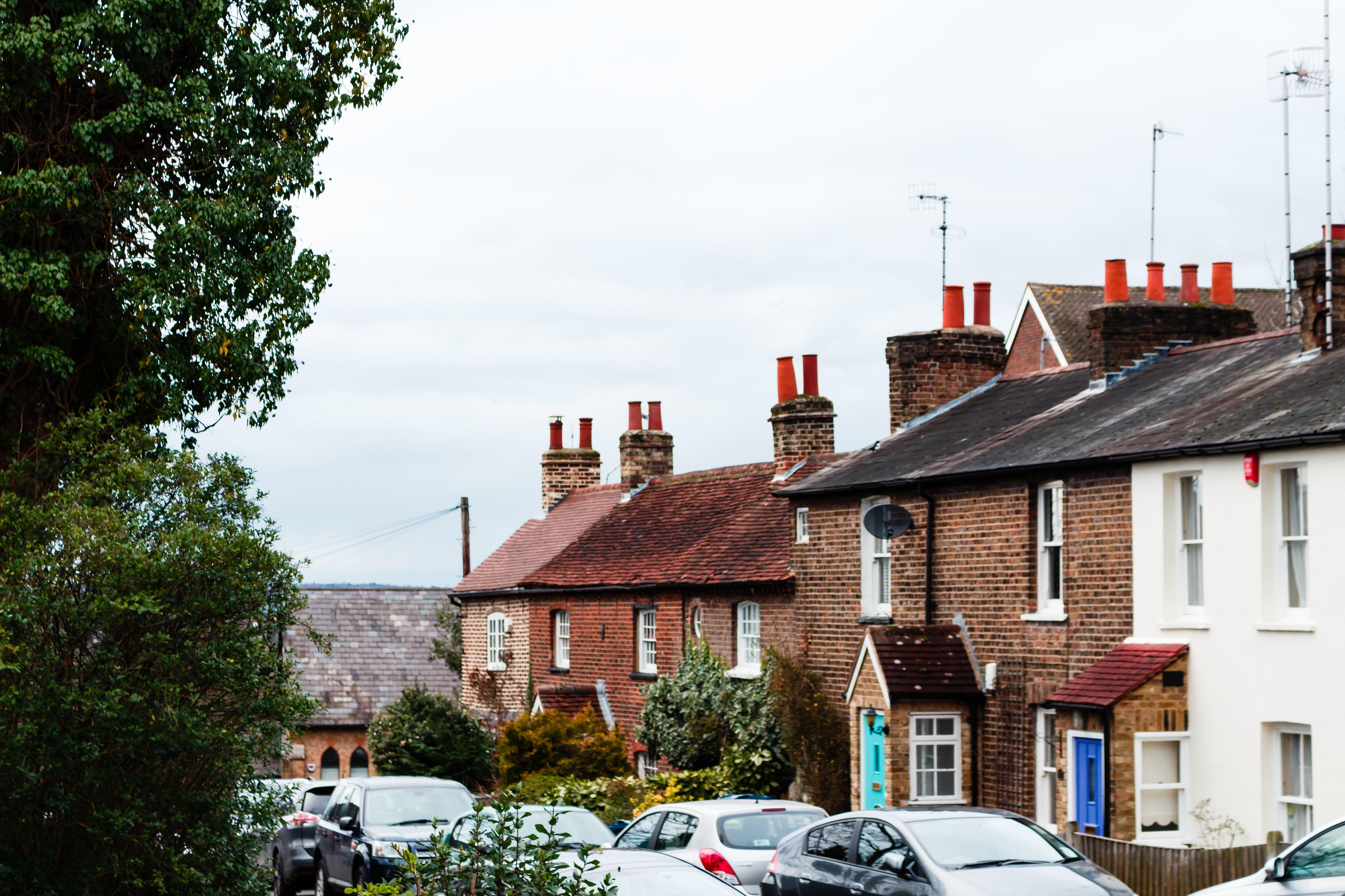 Free stock photo of houses, england, UK
