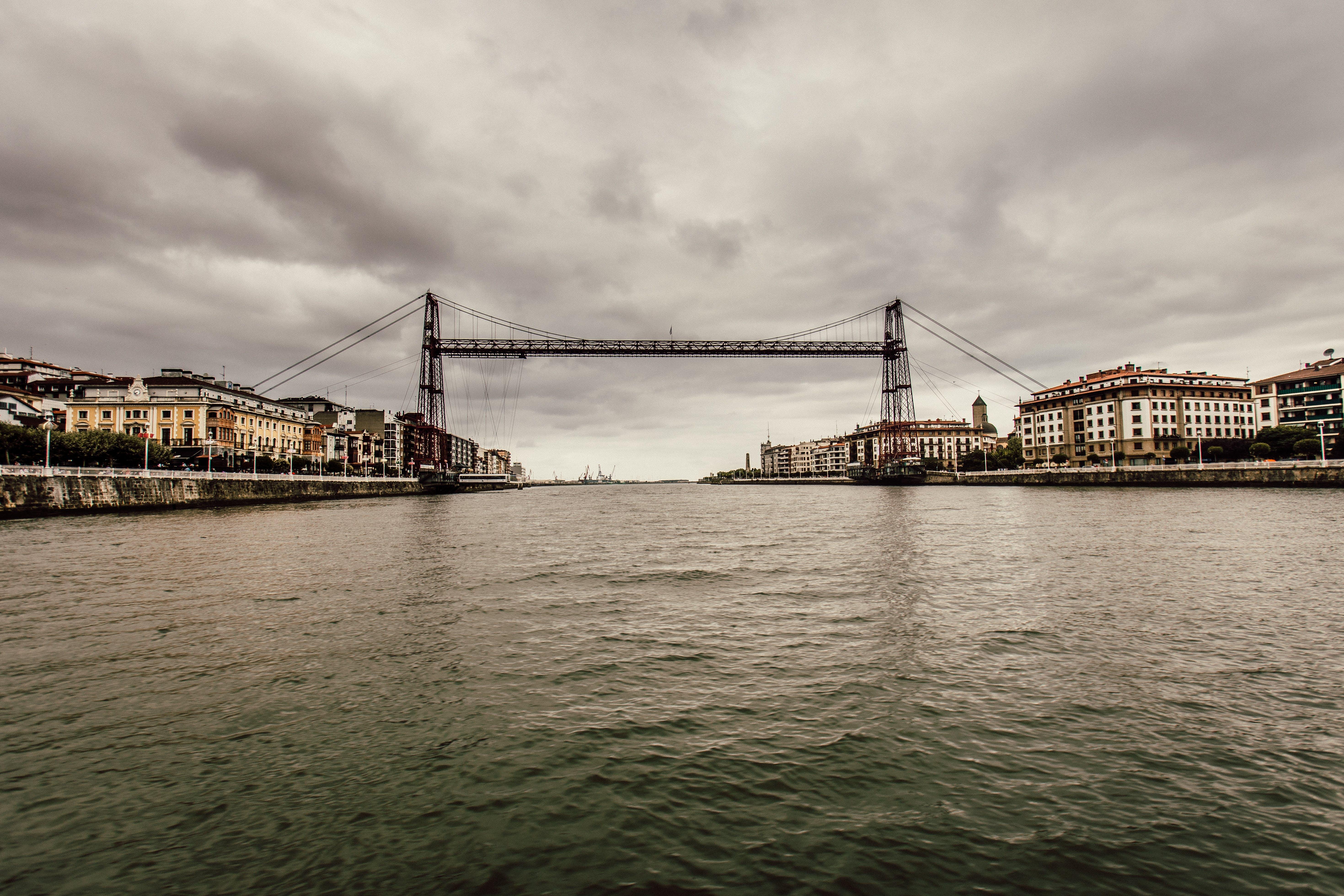 Free stock photo of city, sky, water, bridge