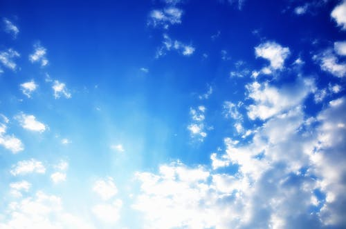 Free stock photo of atmosphere, blue, blue sky, blue sky clouds