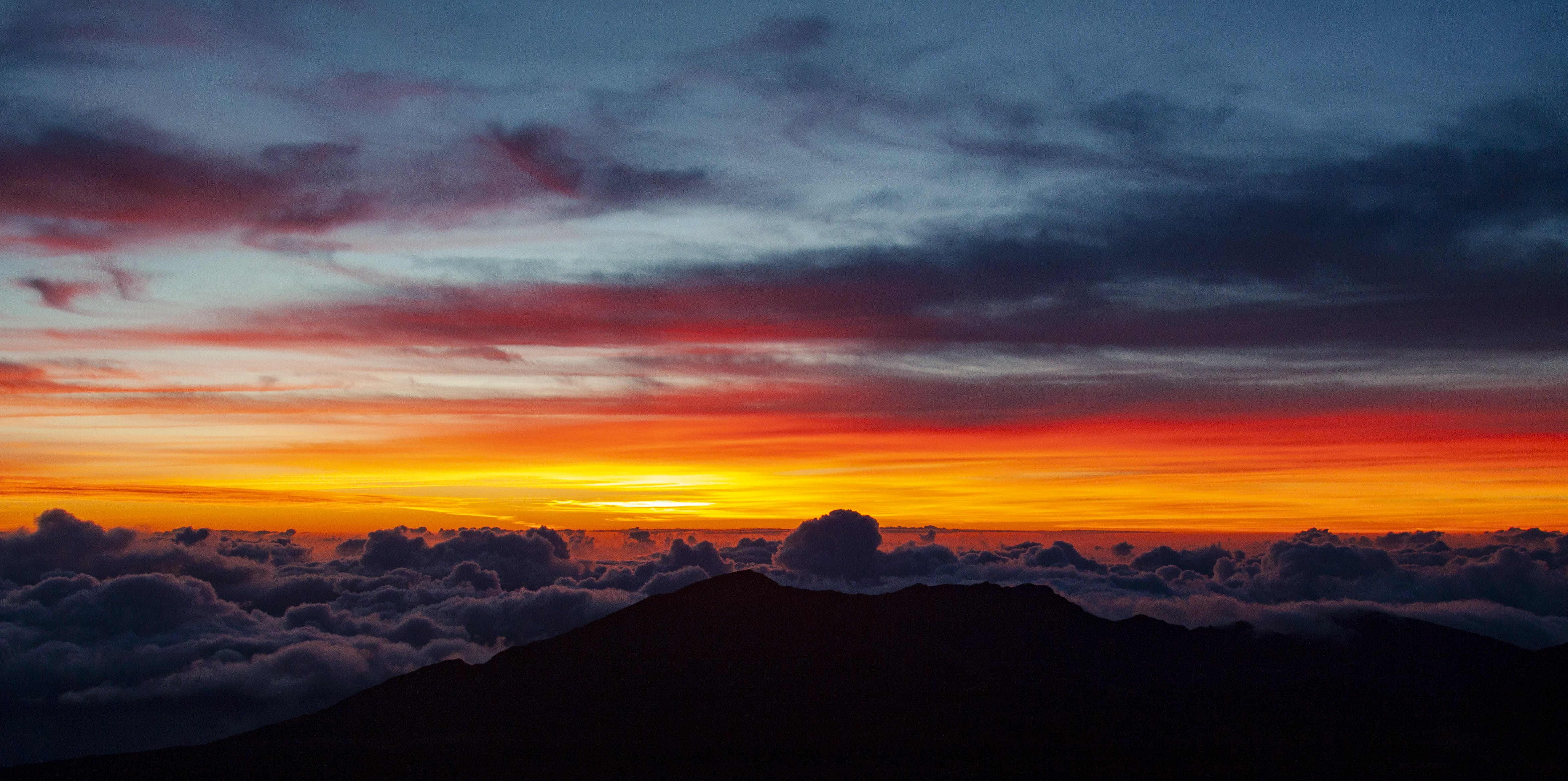 Free stock photo of above clouds., clouds, elevation, hawaii