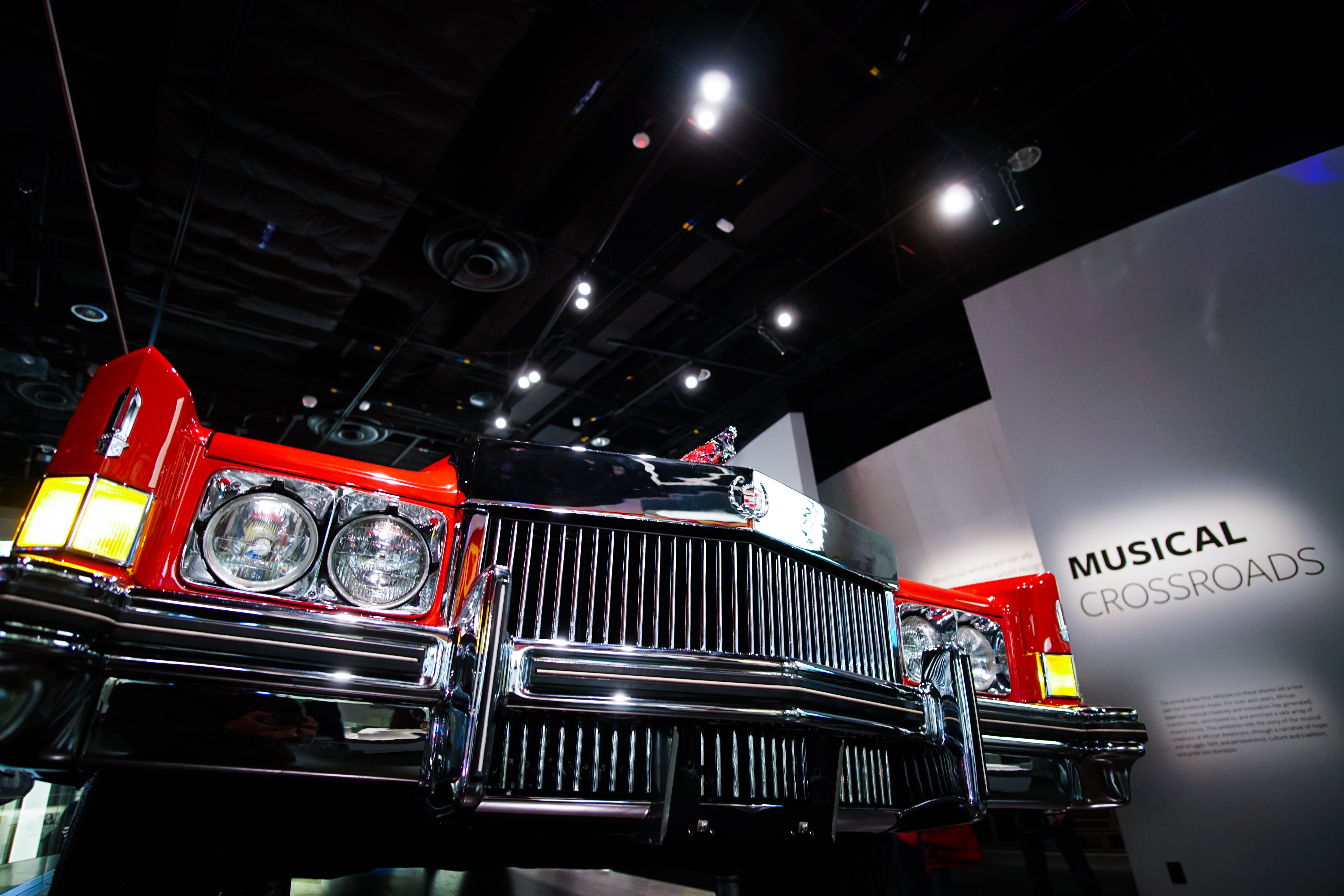 Free stock photo of 52 cadillac, 70s car, african american museum, american car