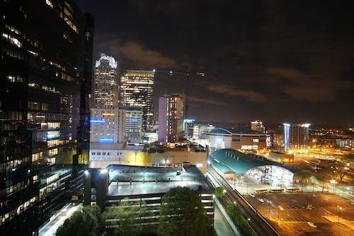 Kostnadsfri bild av charlotte, charlotte stad, downtown charlotte, mörk stad