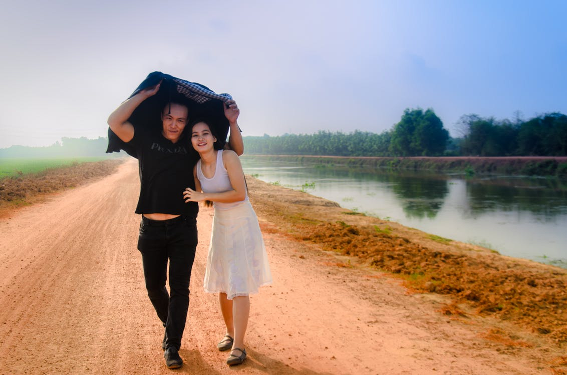 asian couple, beautiful, couple