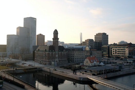 Free stock photo of city, architecture, sweden, cityscape