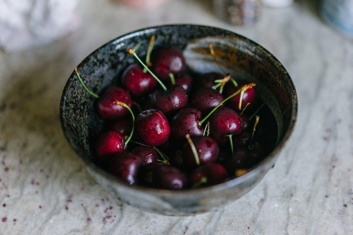 Cherries In A Bowl