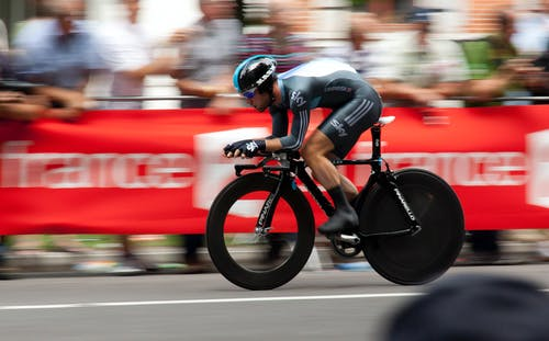 Foto d'estoc gratuïta de anant amb bici, anant en bici, atleta, bici