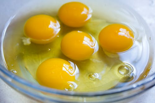 Free stock photo of baking, eggs, raw eggs, yolks