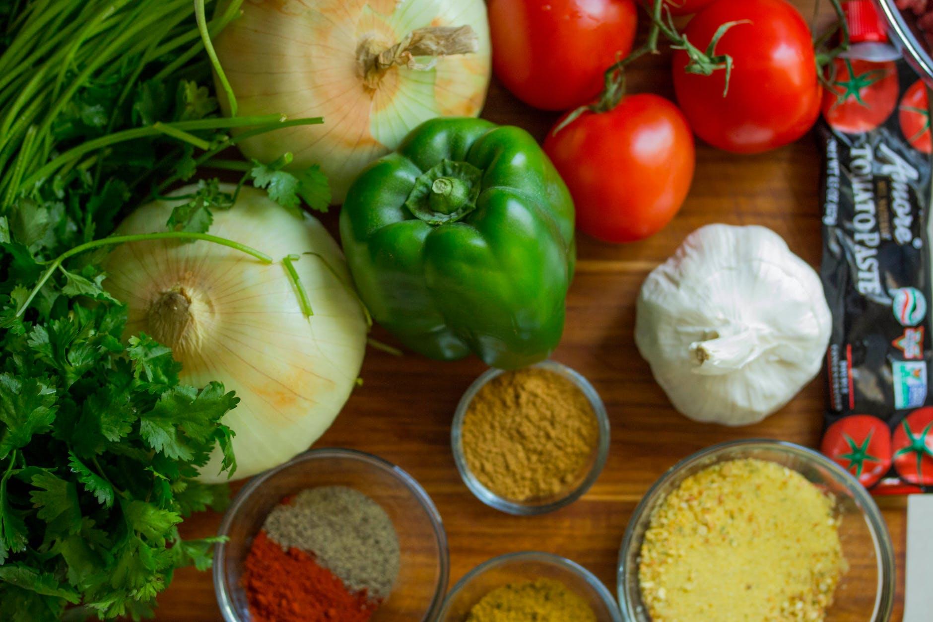vegetais crus na dieta paleo