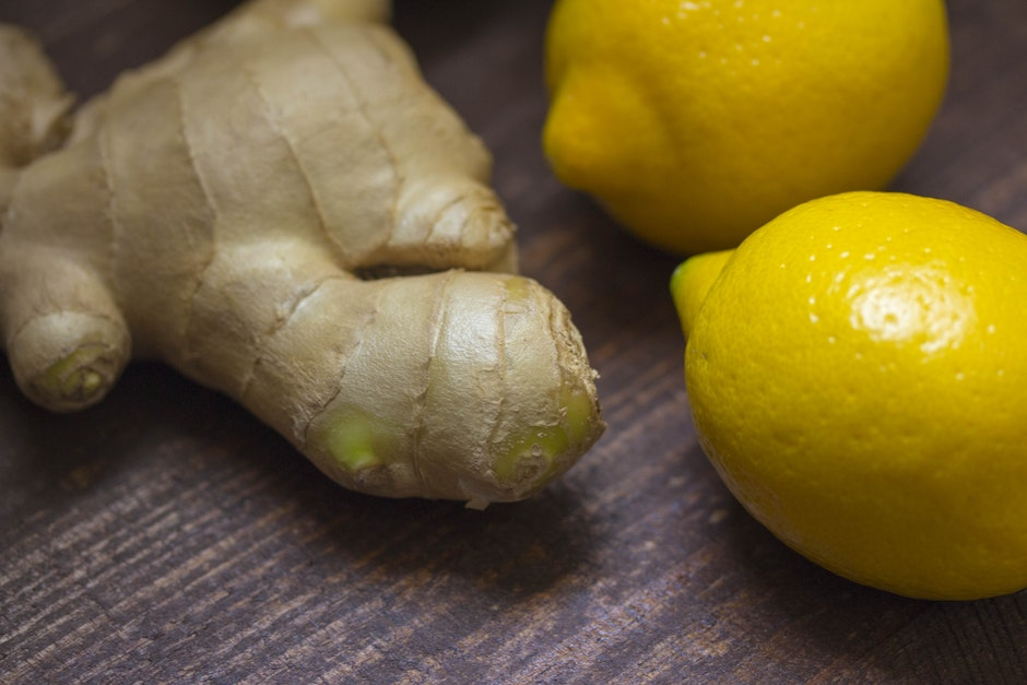 Ginger and 2 Lemon Fruit