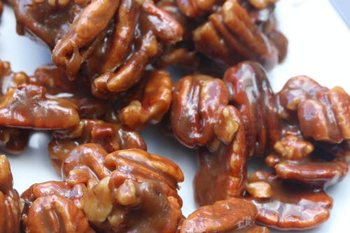 Free stock photo of candy, caramel, nuts, pecan pralines