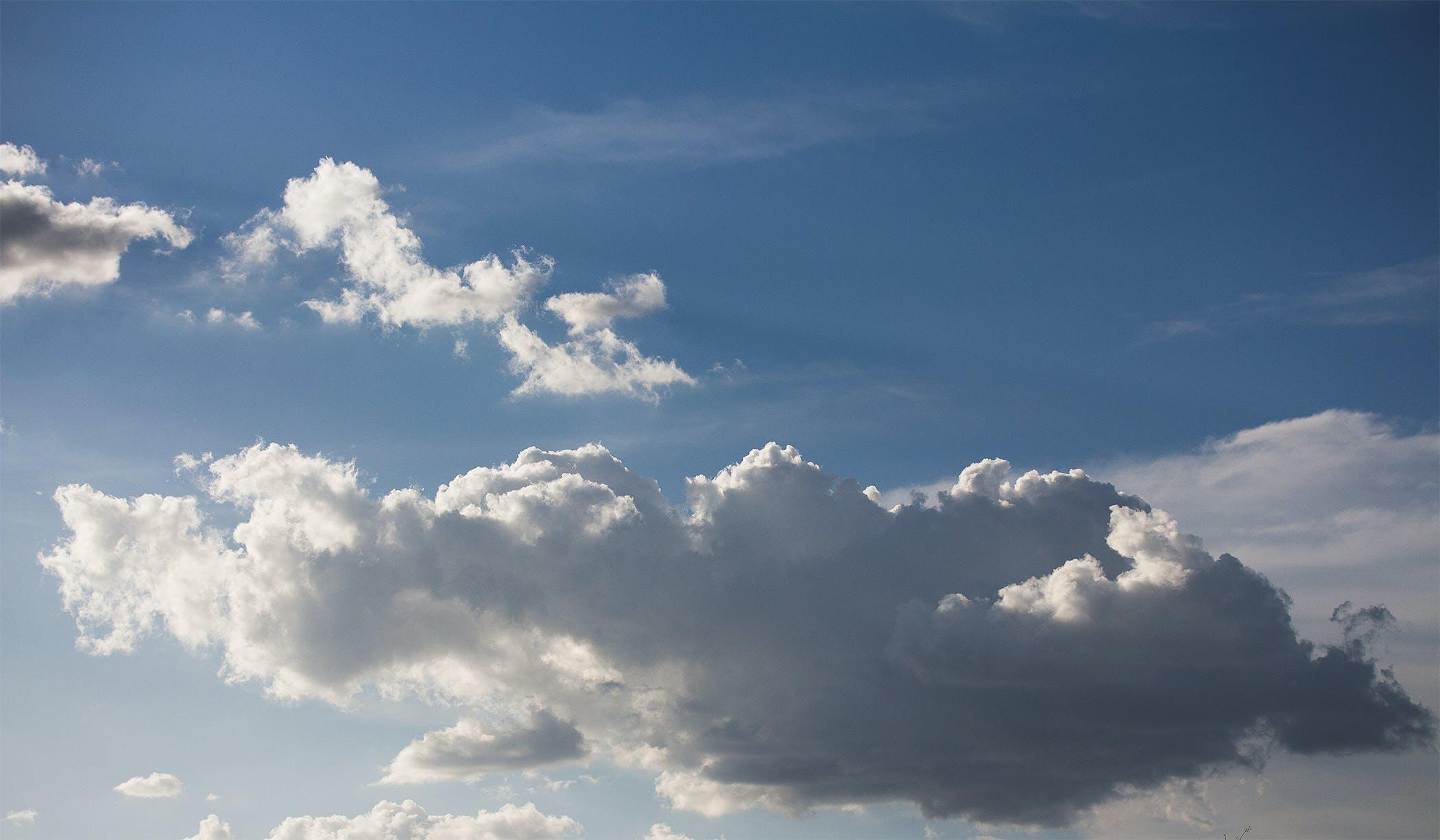 Foto profissional grátis de atmosfera, azul, céu, céu azul