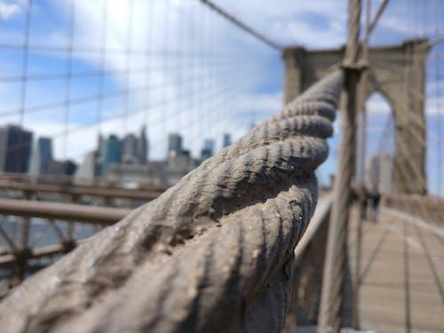 Free stock photo of bridge, brooklyn bridge, new york city