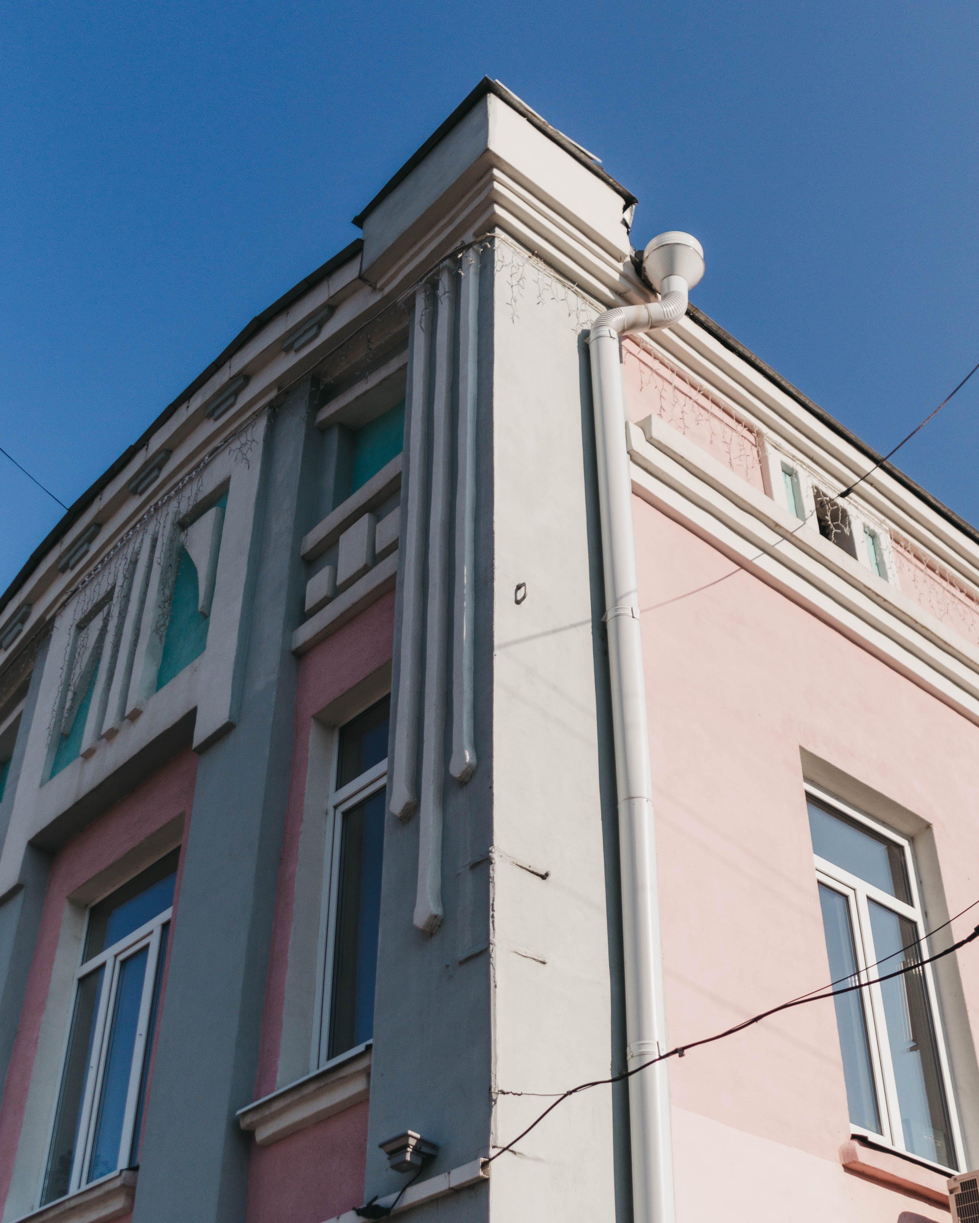 Gratis lagerfoto af arkitektur, bygning, lavvinkelskud, lejlighed
