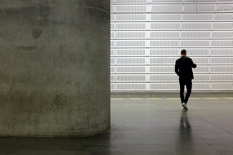Free stock photo of concrete, malmo, man, subway