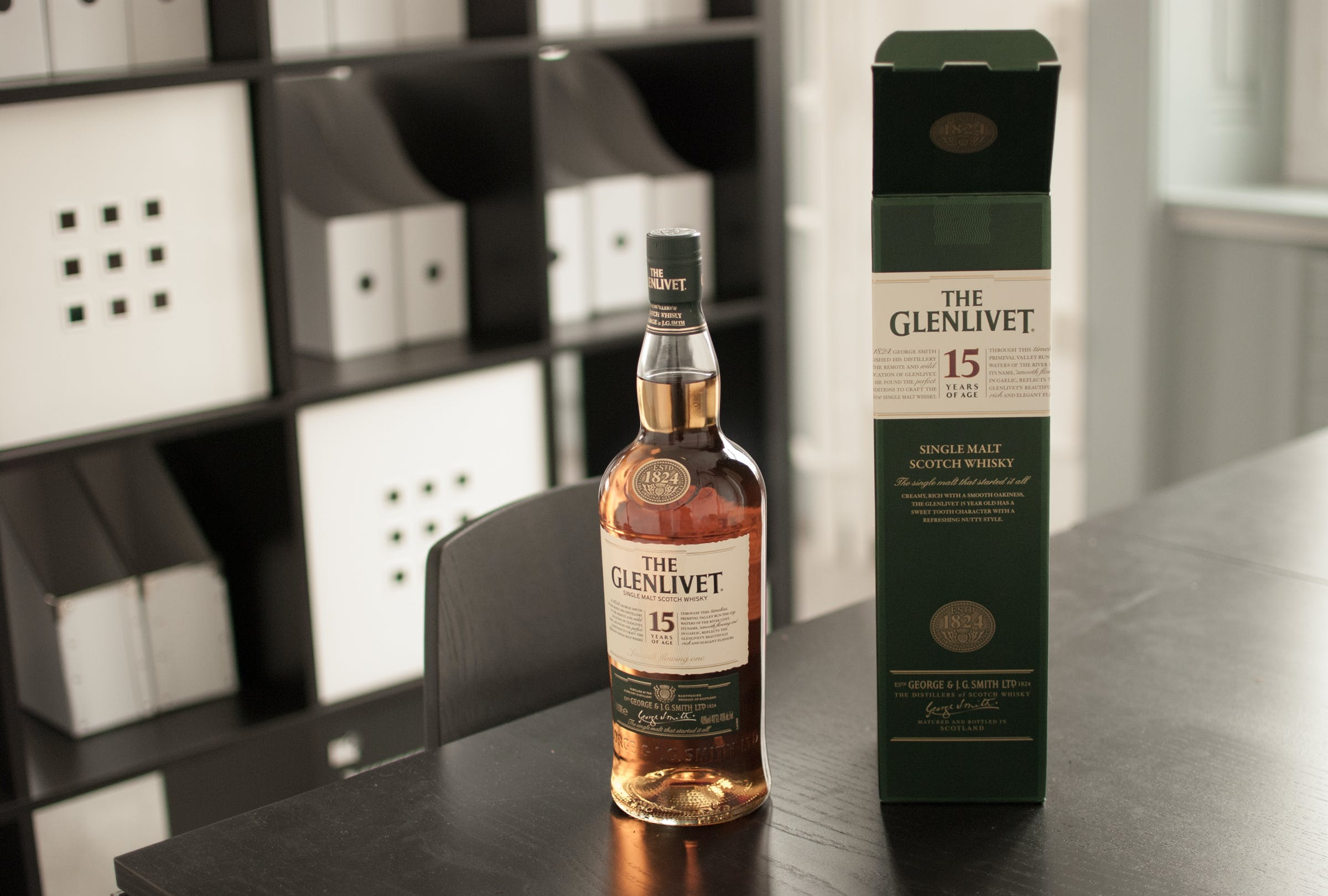 Gratis arkivbilde med flaske, whisky