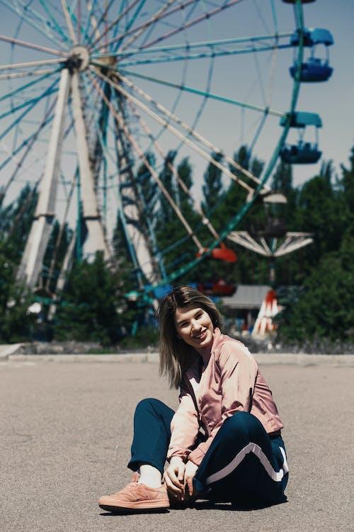 Бесплатное стоковое фото с активный отдых, веселье, Взрослый, девочка