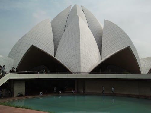 Free stock photo of lotus temple