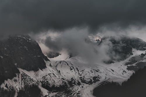 Immagine gratuita di acqua, alba, bianco e nero, freddo