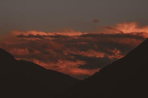 Ingyenes stockfotó felhők, festői, hajnal, háttérvilágítás témában