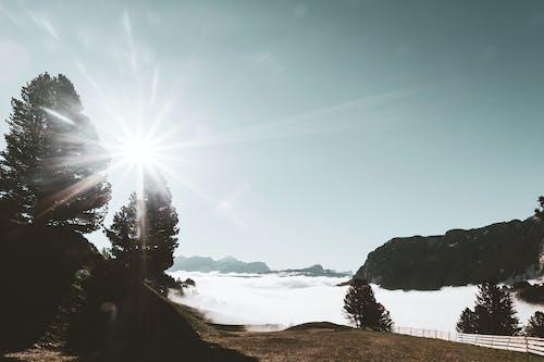 Fotobanka sbezplatnými fotkami na tému exteriéry, HD tapeta, lúč slnka, malebný
