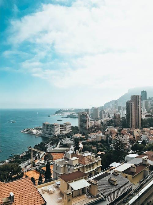 假期, 城市, 城鎮, 天空 的 免费素材照片