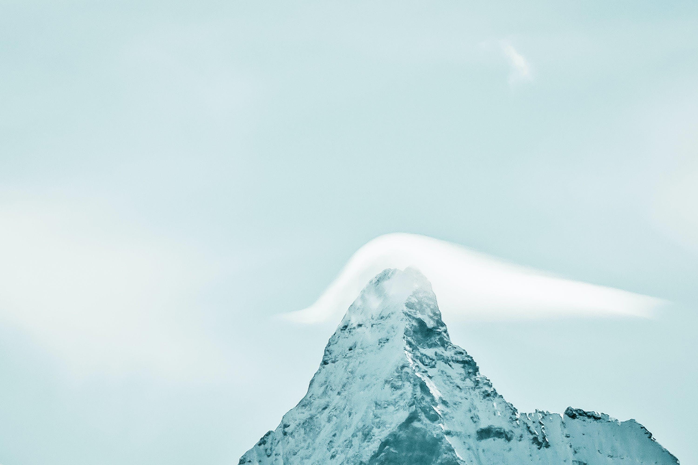 Kostenloses Stock Foto zu berg, desktop hintergrundbilder, gipfel, himmel
