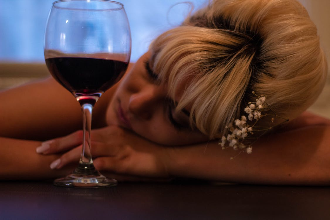アルコール, エレガント, ガラス