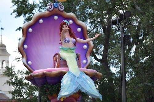 아리엘, 월트 디즈니 월드의 무료 스톡 사진