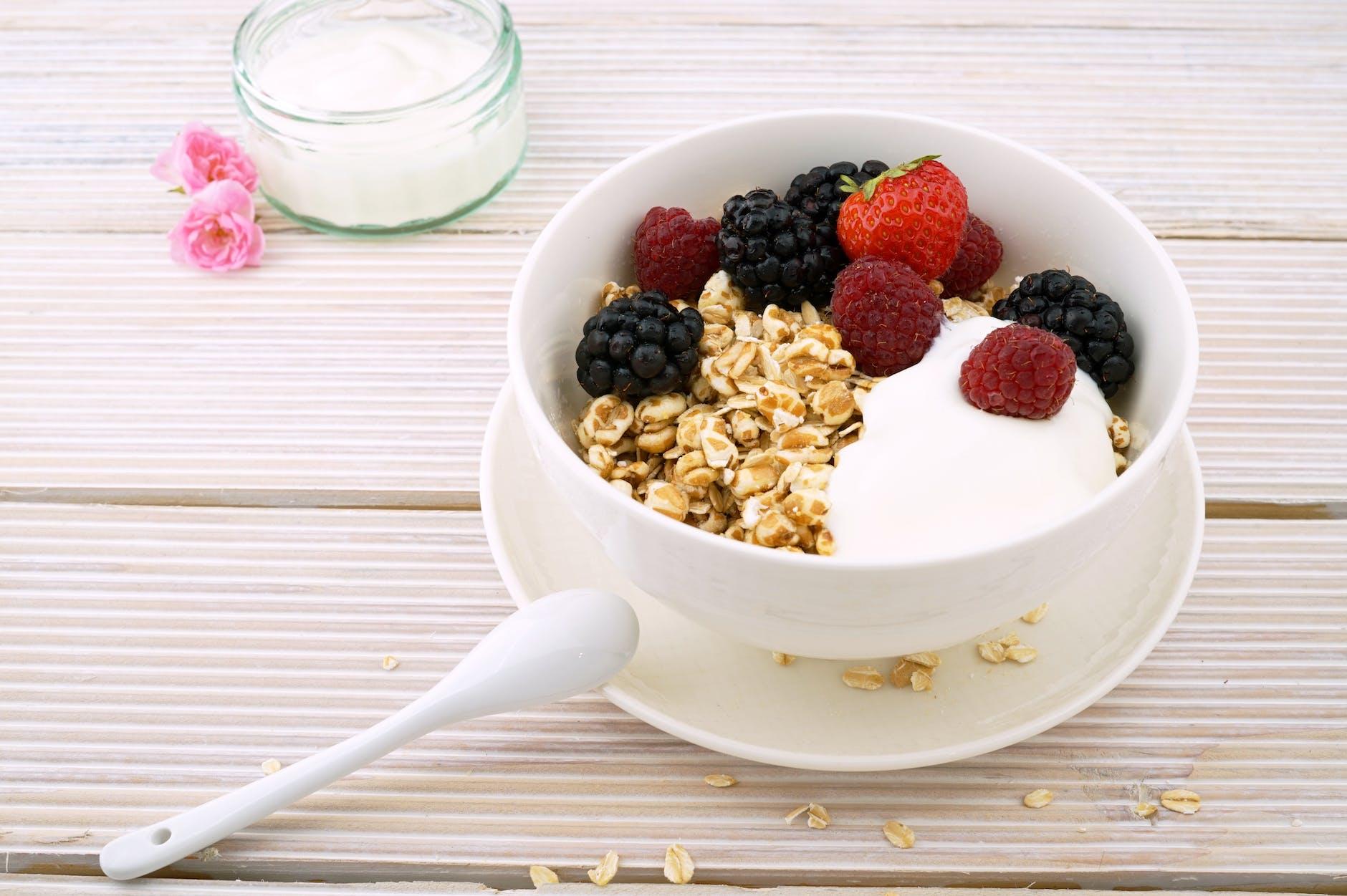 Bakje met Griekse yoghurt