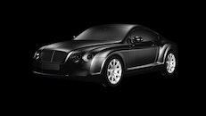 black-and-white, car, vehicle