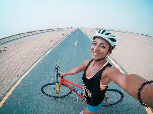 Δωρεάν στοκ φωτογραφιών με mountain bike, selfie, άθλημα, αναψυχή