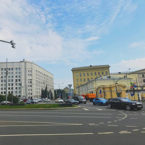 Free stock photo of Arbat, cars, moscow