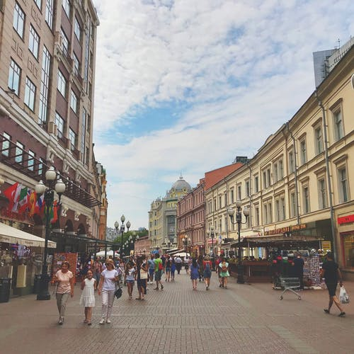 Free stock photo of Arbat, moscow, photography