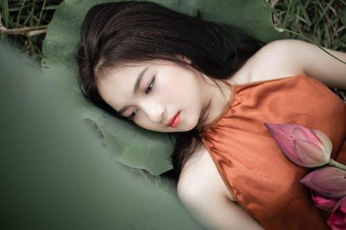 Gratis lagerfoto af afslapning, asiatisk kvinde, Asiatisk pige, attraktiv