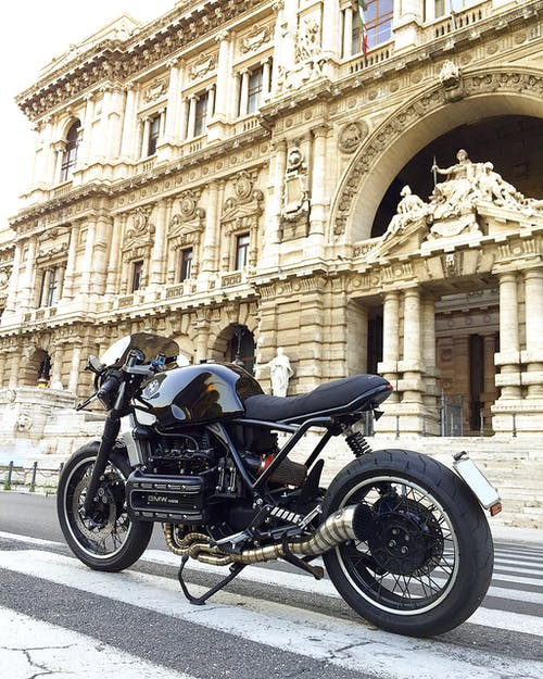 Free stock photo of caferacer