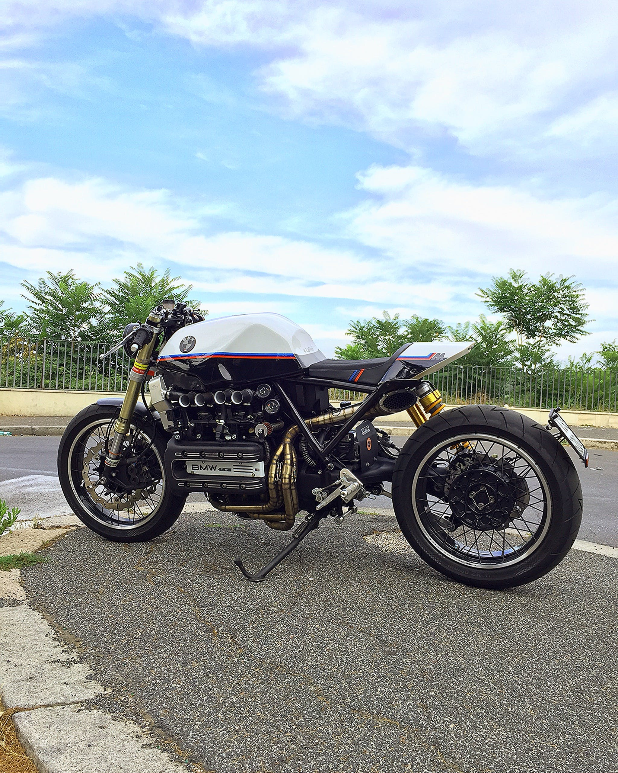 Free stock photo of #caferacer