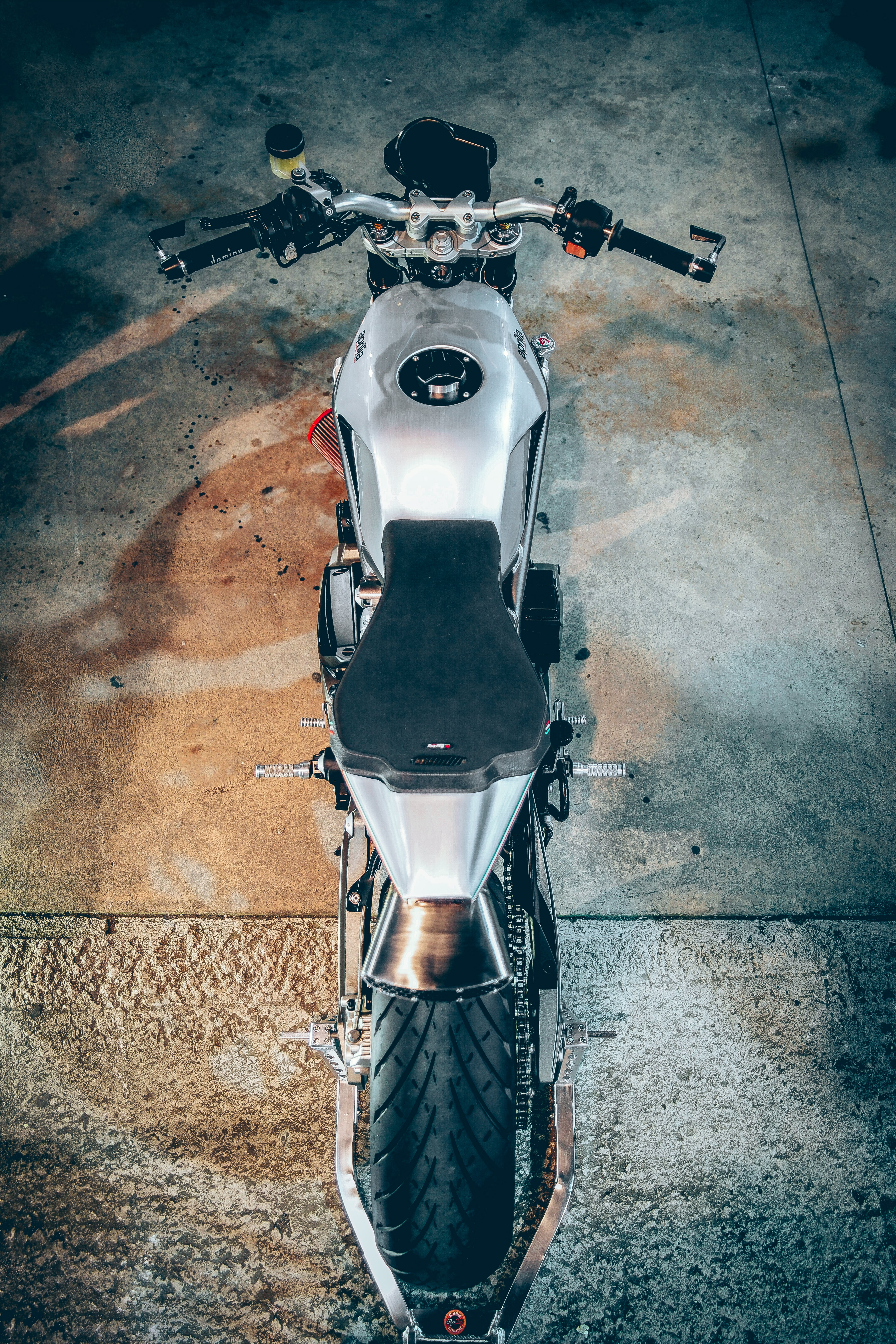 Black and Gray Naked Motorcycle