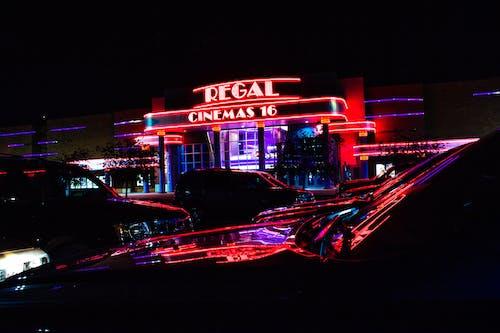 Kostenloses Stock Foto zu beleuchtung, kino, nacht, neon