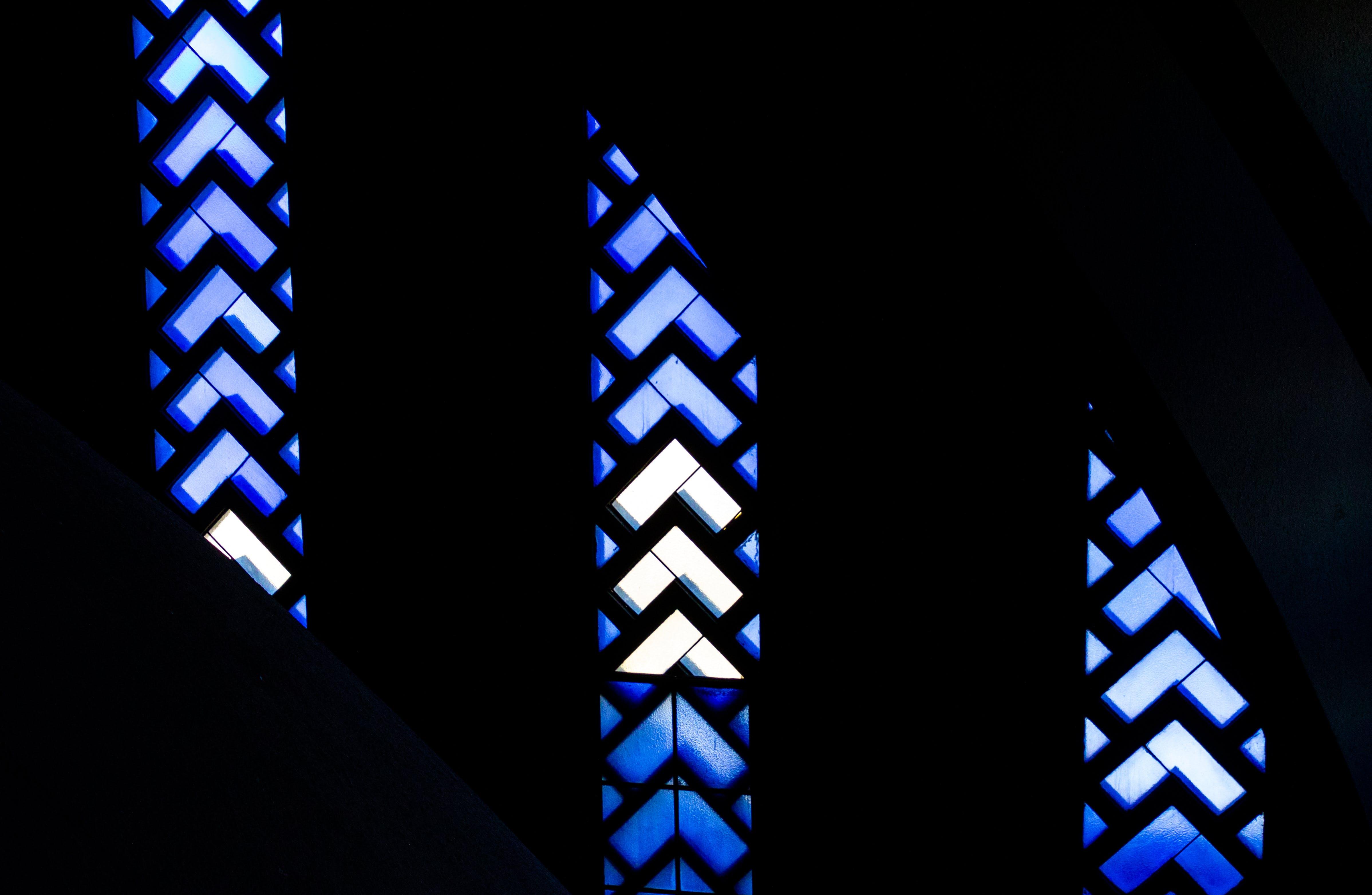 Silhouette Photo of Window