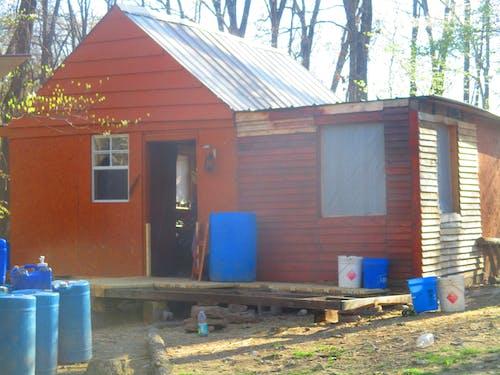 Immagine gratuita di autosufficienza, cabina, cabina pallet, homesteading